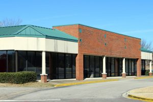 Vacant Retail Building