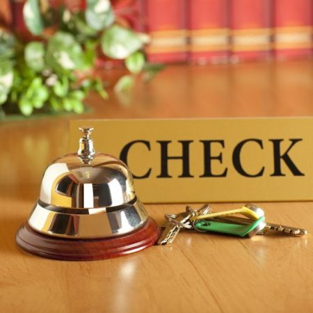 Hotel Check in bell